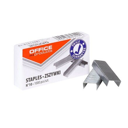 Скобы Office Products №10 (1000 шт)