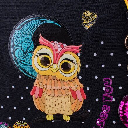 "Ранец Berlingo Expert ""In love with owls"" 37*28*16см, 2 отделения, 1 карман, анатомическая спинка"